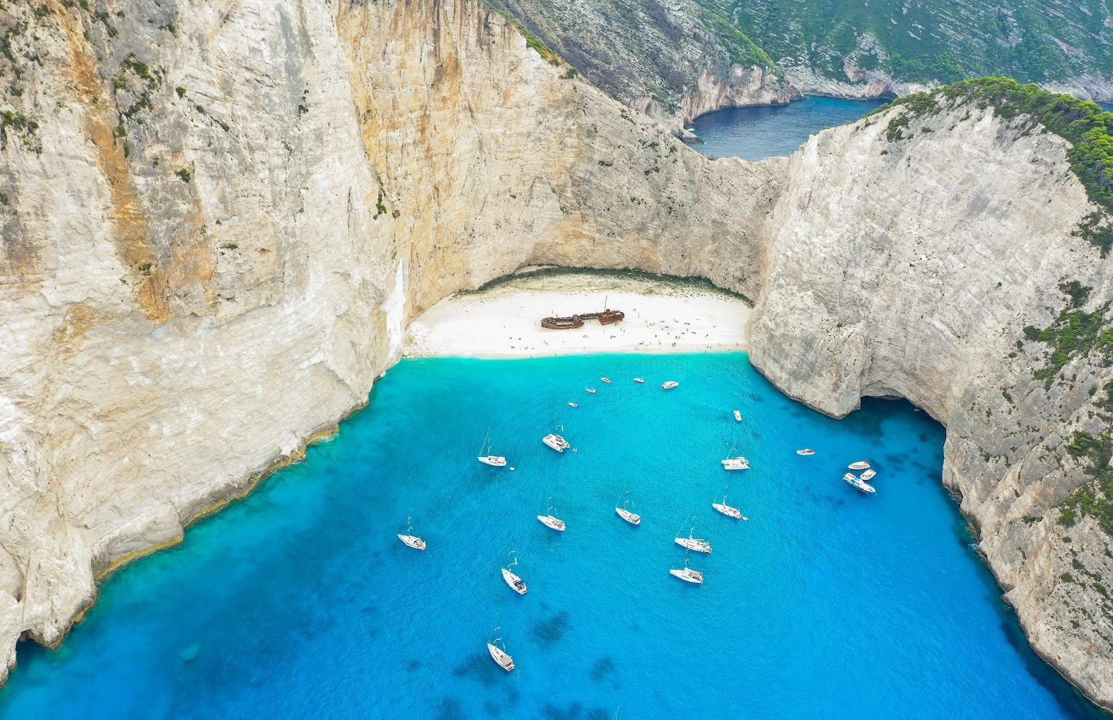 Shipwreck Beach, Greece