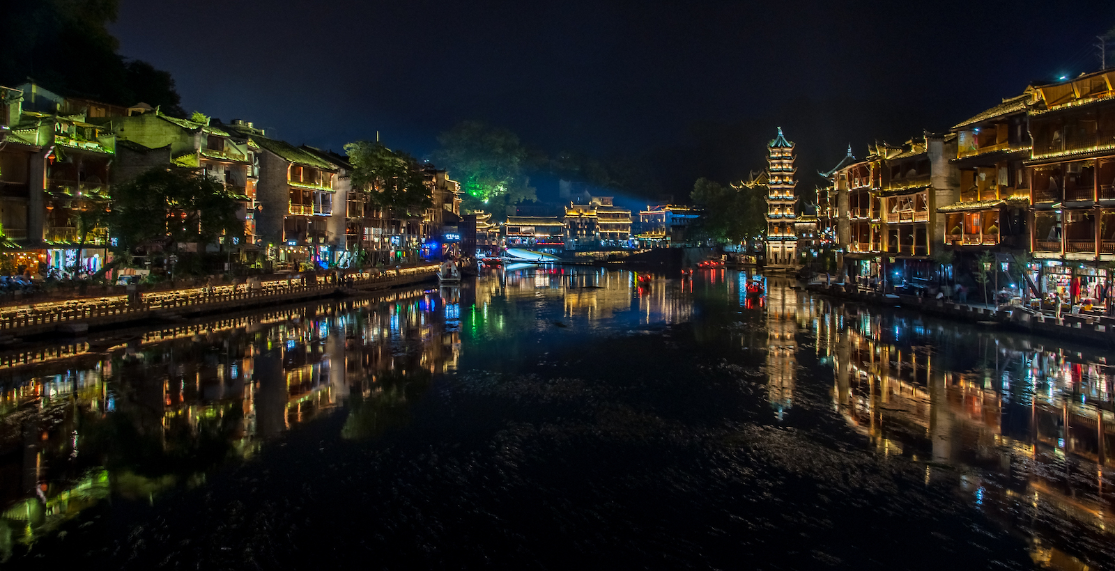 Ancient town of Fenghuang, China