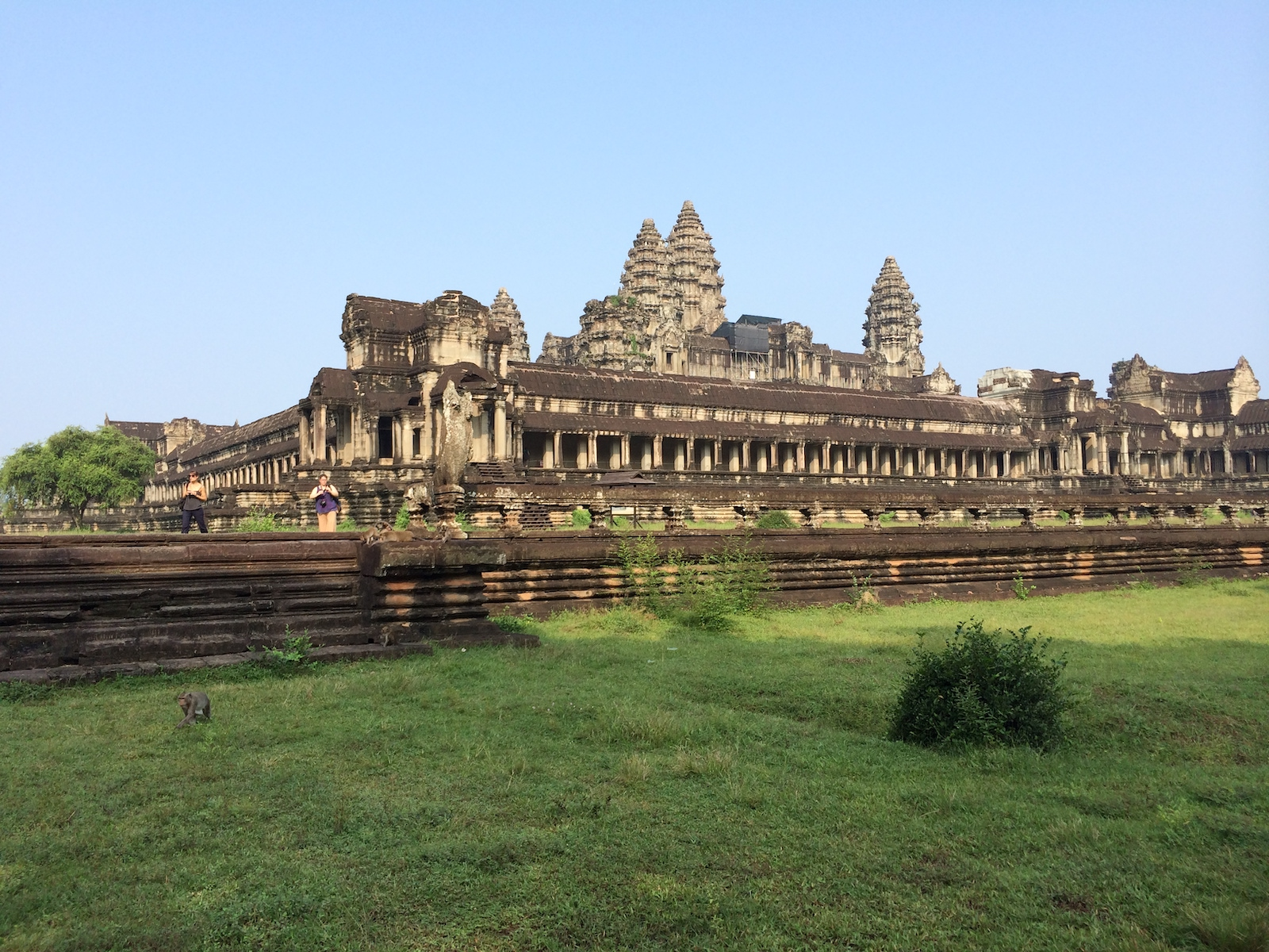 Angkor Wat Side View, Cambodia