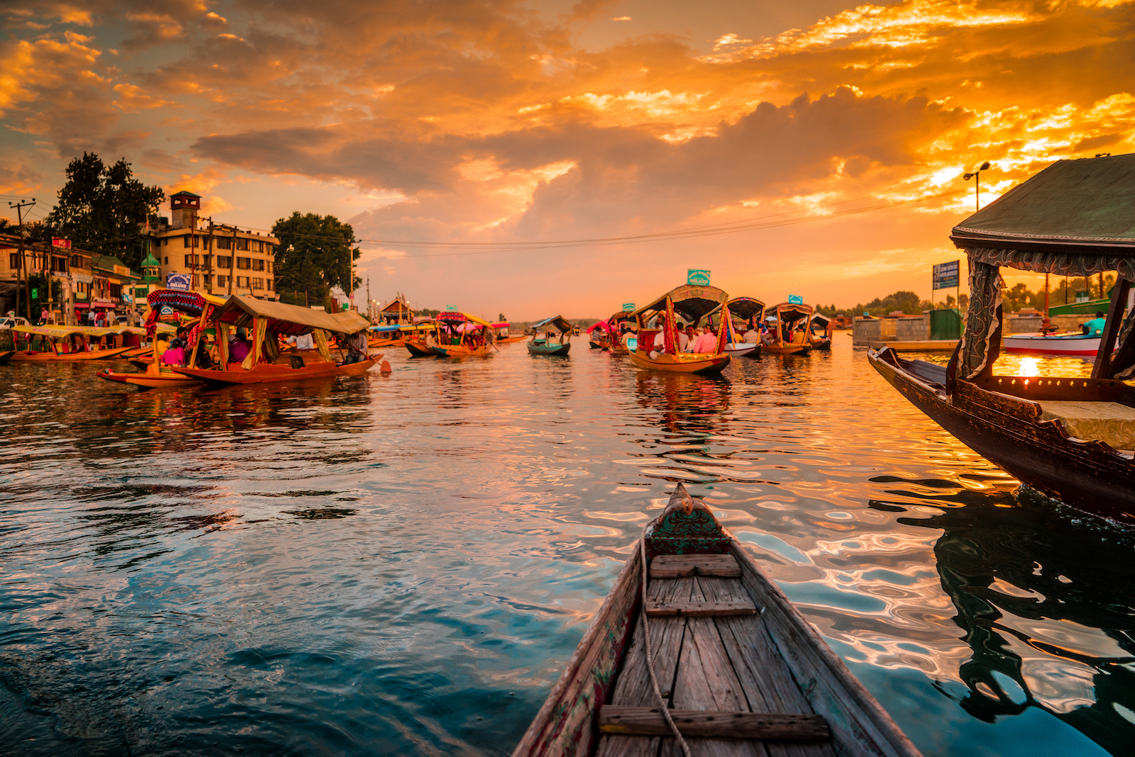 Floating Market Sunset, Thailand