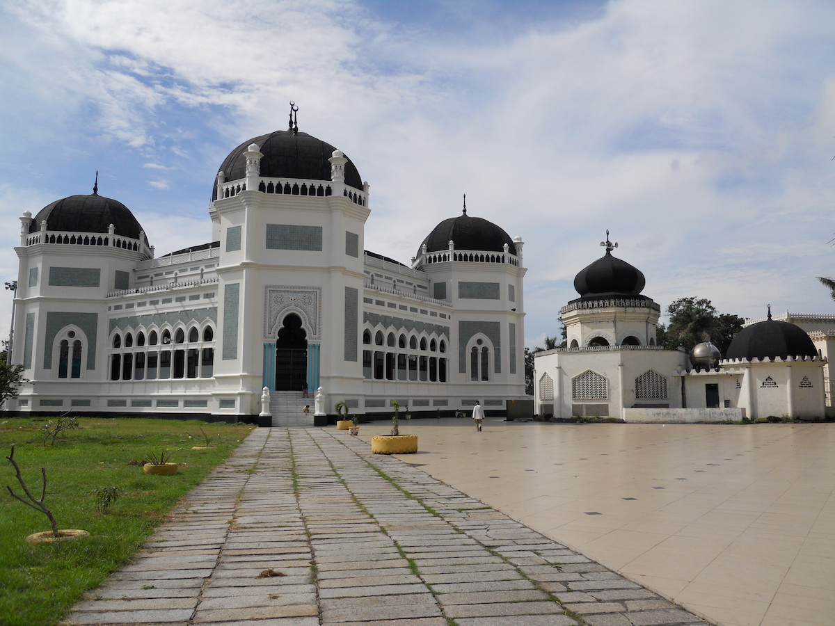 Great Mosque of Medan, Indonesia