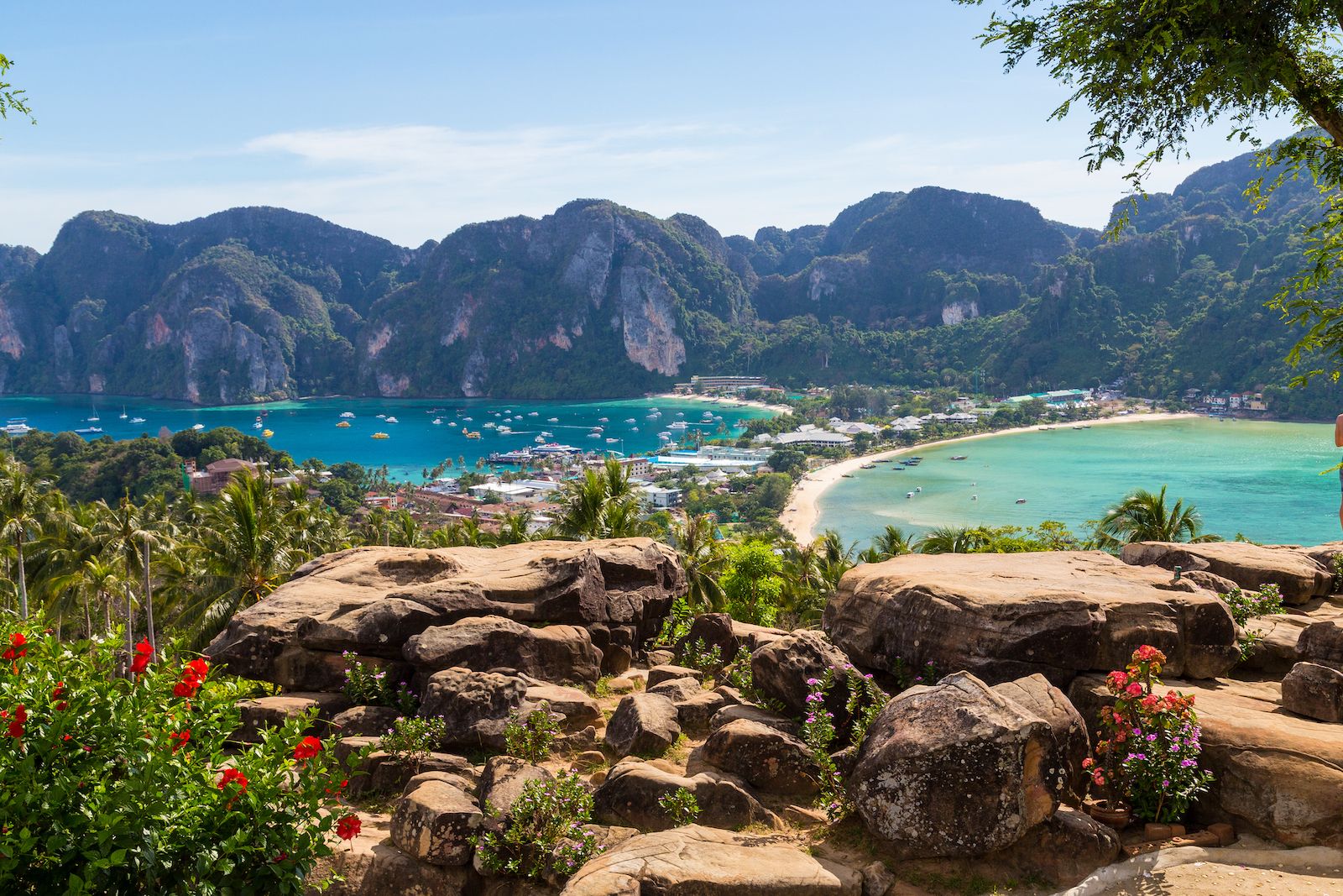 High views of Ko Phi Phi Island