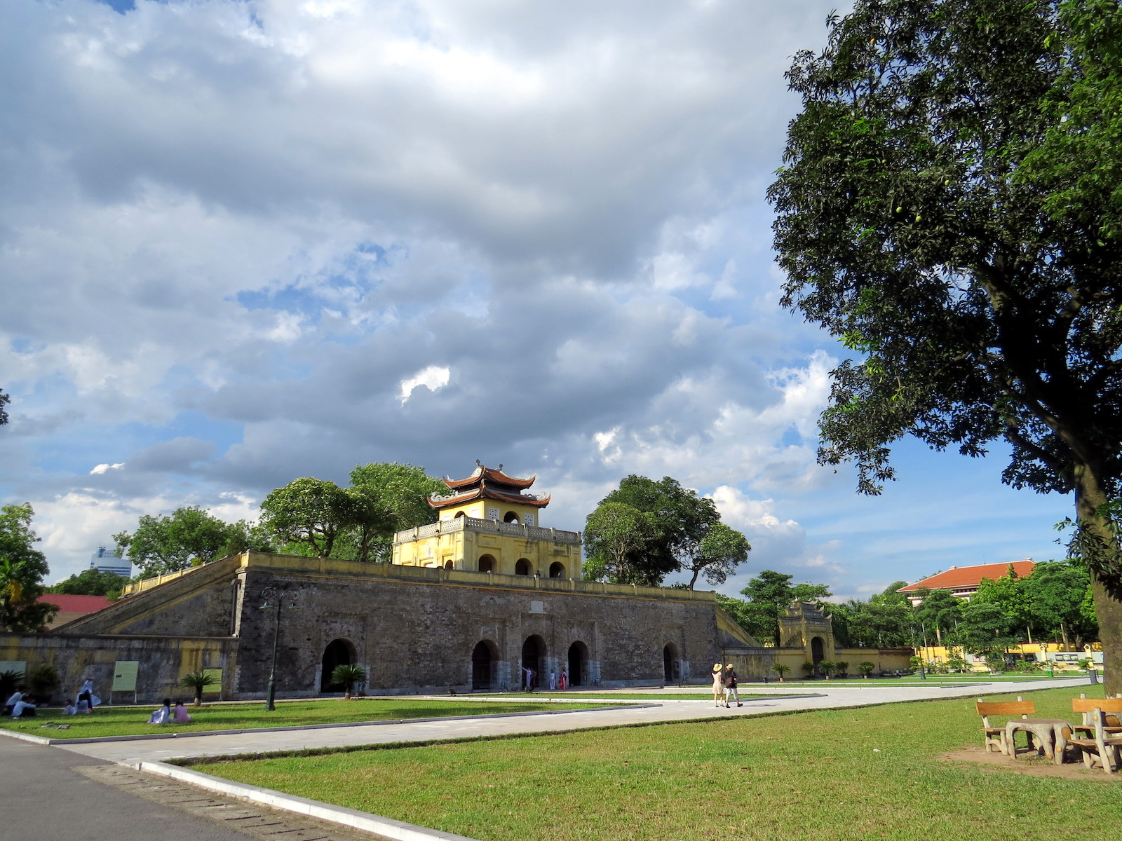 Imperial Citadel of Thang Long in Ha Nội, VN