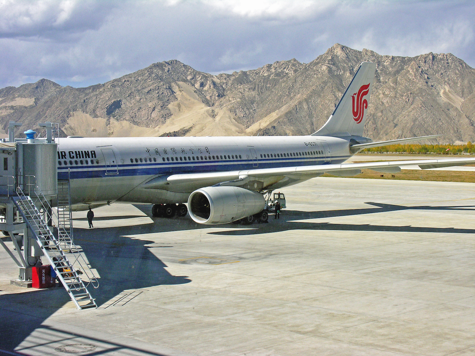 Lhasa Airport, China
