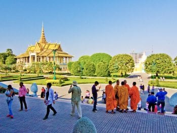 Royal Palace Grounds, Phnom Penh, Cambodia