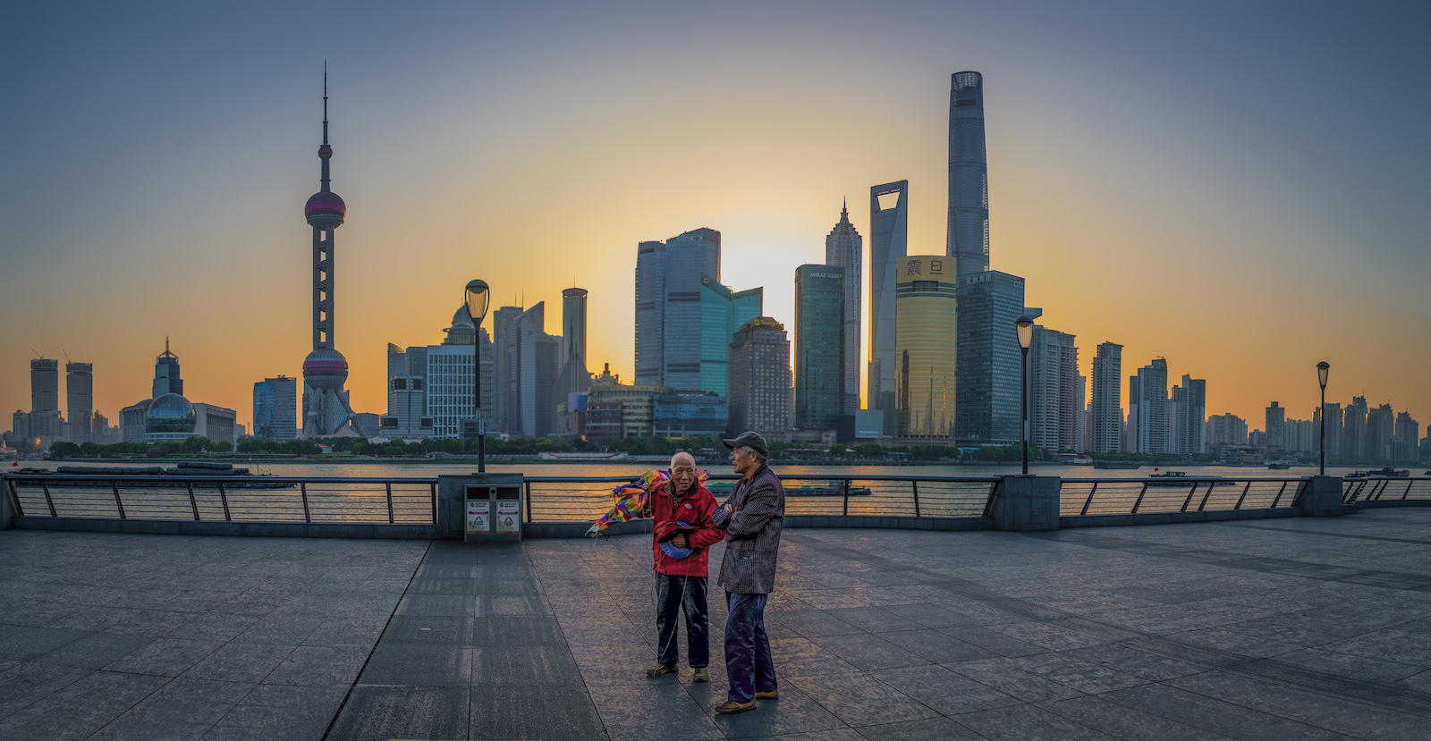 Shanghai Sunrise, China