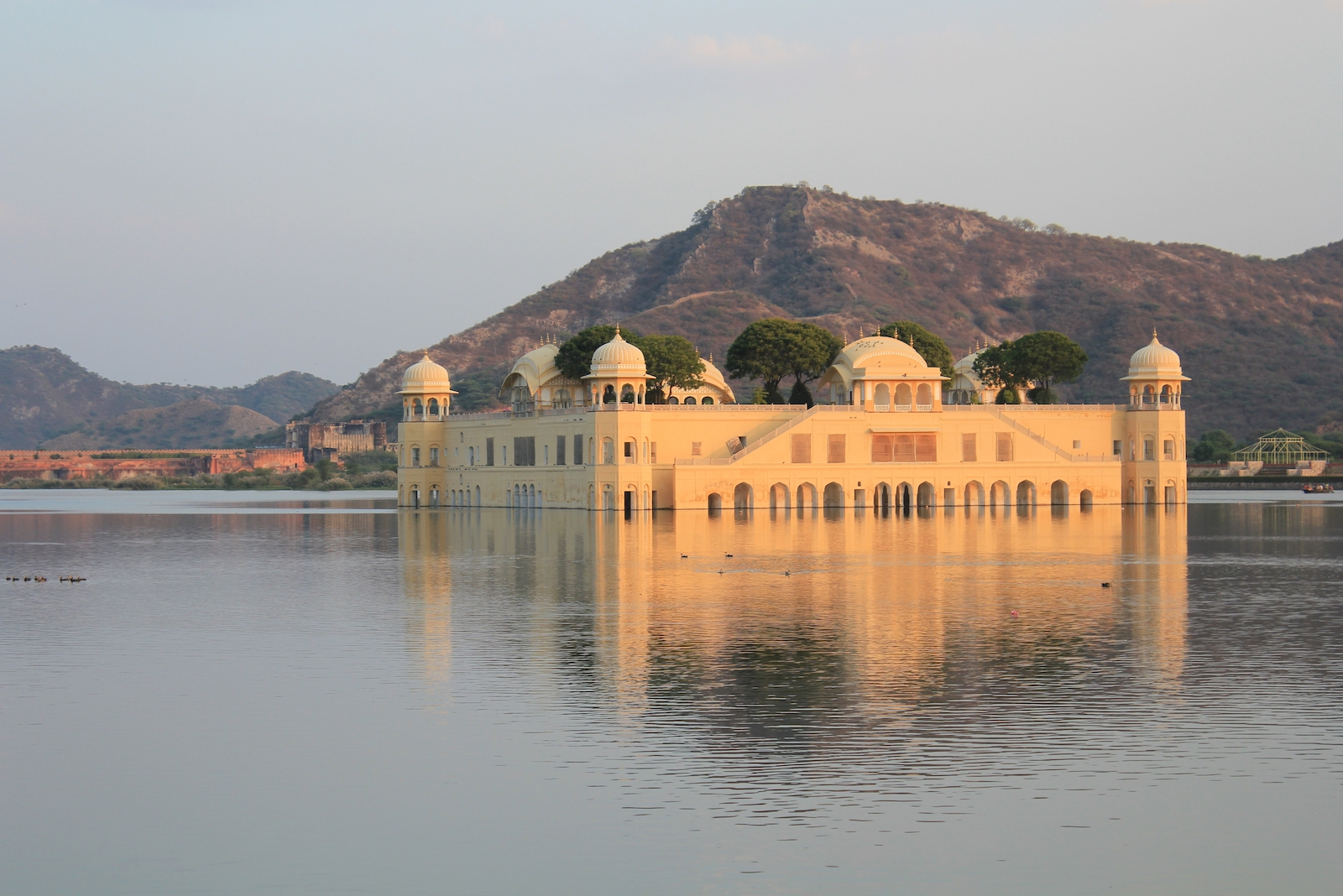 Jaipur, Jal Mahal in India