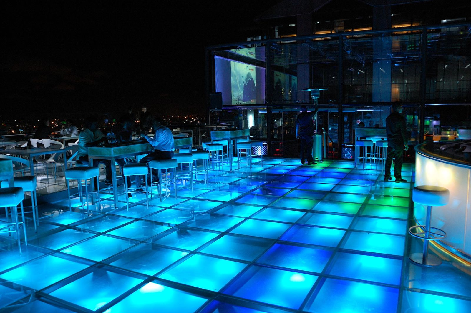 Sky Bar at UB City, Bangalore, India