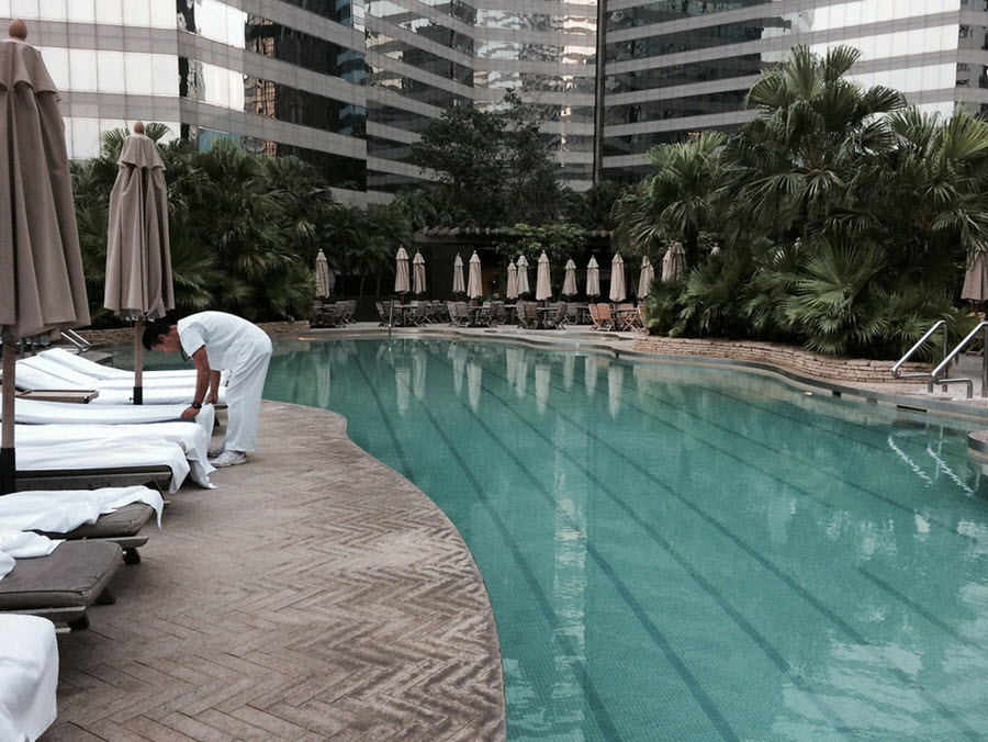 Grand Hyatt Hong Kong Pool
