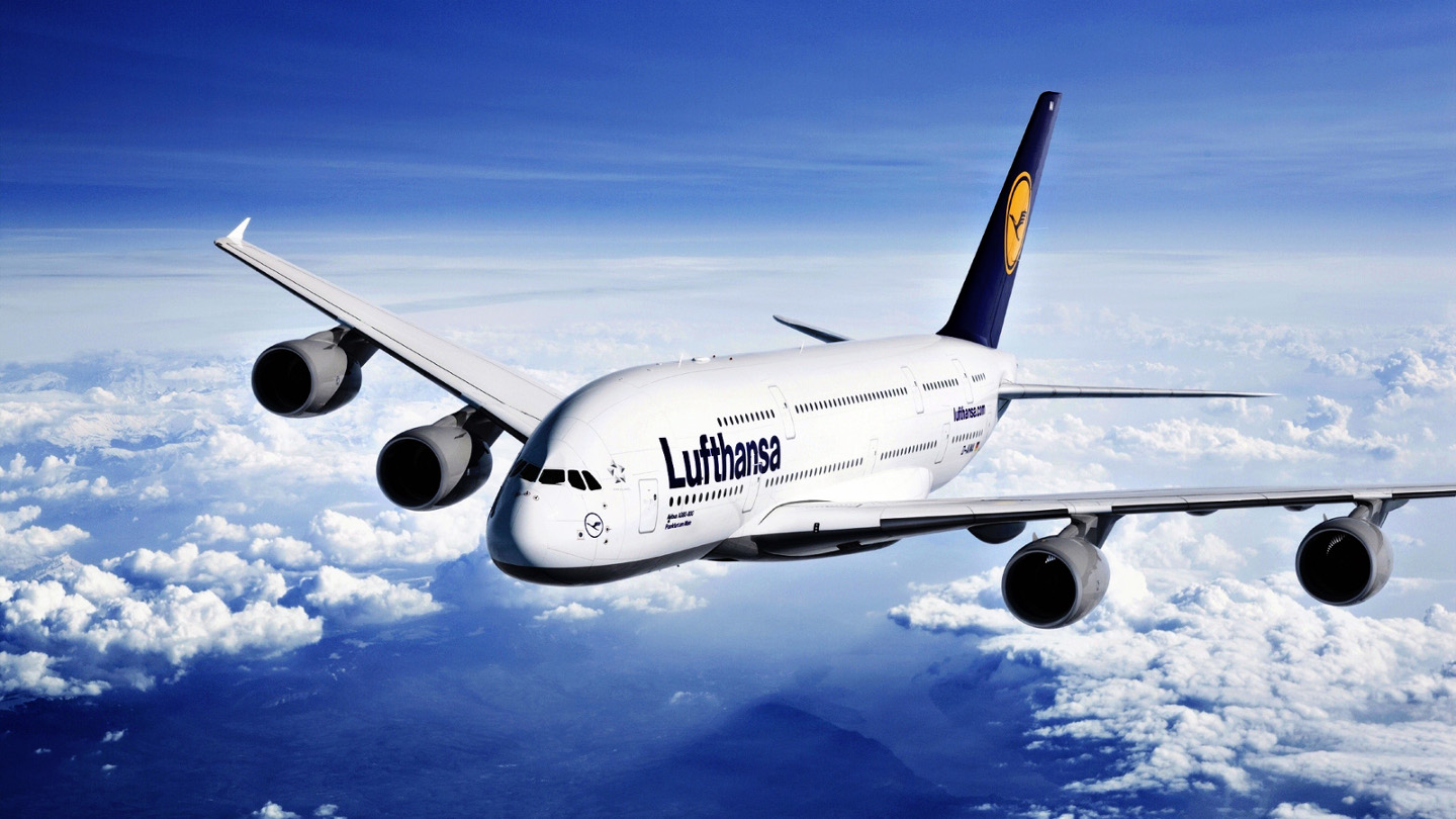 Best International Flights Luftsana Airline Germany