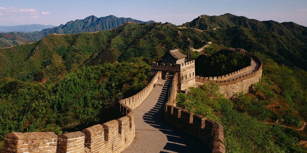 Best Asia Vacation Destinations Great Wall Of China