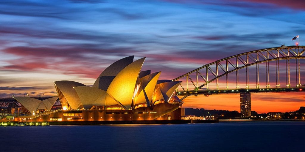 Best Australia Vacation Destinations Sydney Harbor