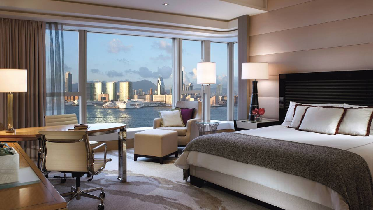 Best Luxury Four Seasons Hotel Hong Kong Room City View