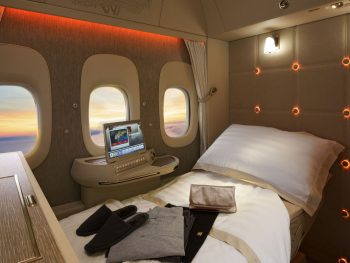 Flights Luxury First Class Seat Emirates