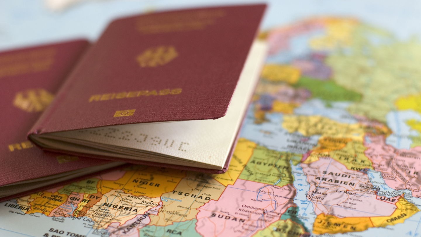 International Travel Checklist Passports