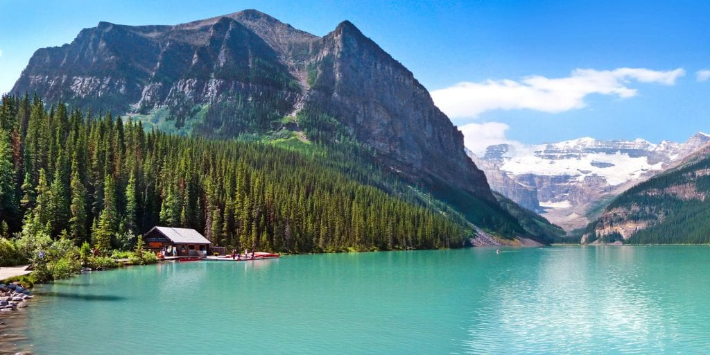 Best North America Vacation Destinations Lake Louise Canada