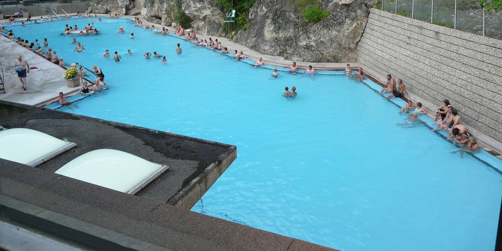 Radium Hot Springs British Columbia Canada Picture