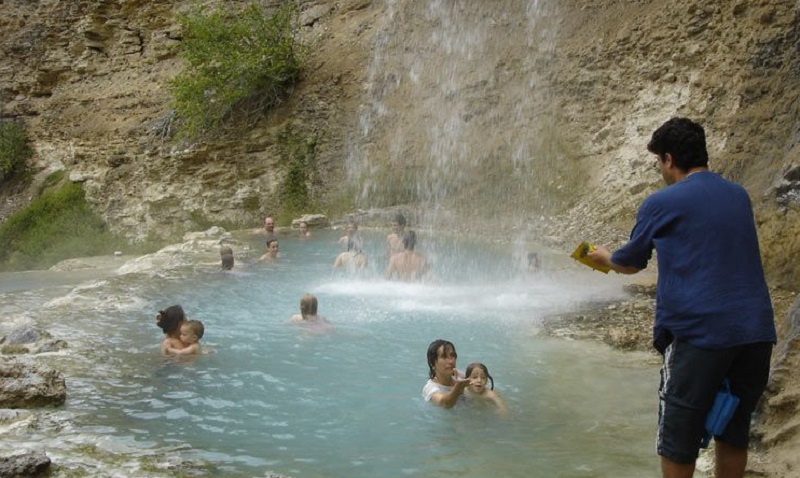 fairmont natural hot springs