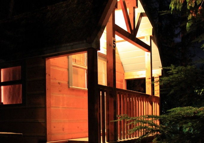 halcyon hot springs cabins