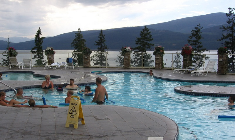 halcyon hot springs camping