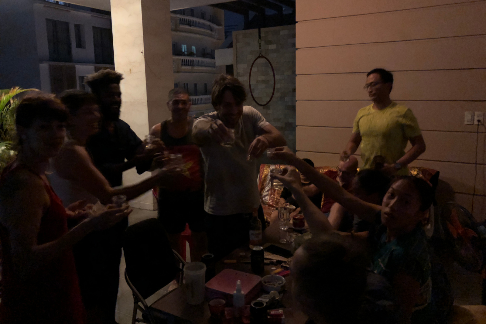 Say Cheers Different Country Language Group Toast Saigon