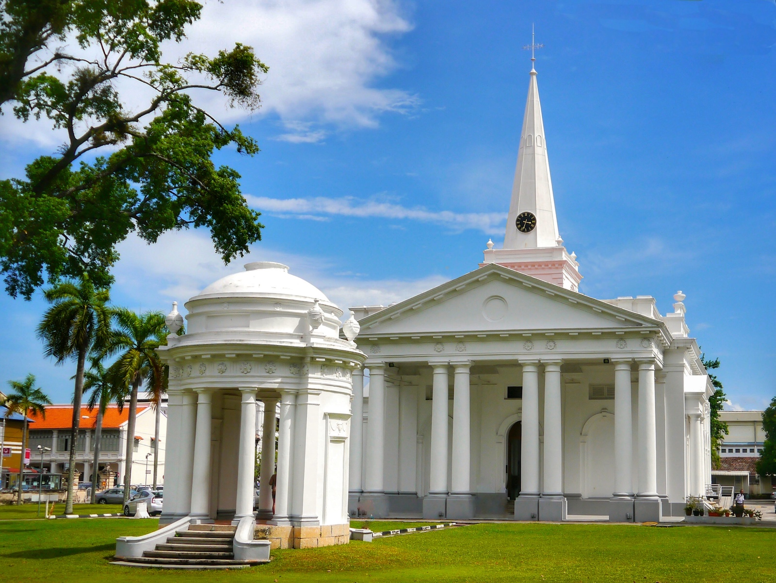 Anglican Church of St George, George Town, Penang in Malaysia