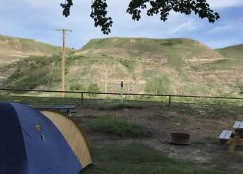 Drumheller Camping in Alberta