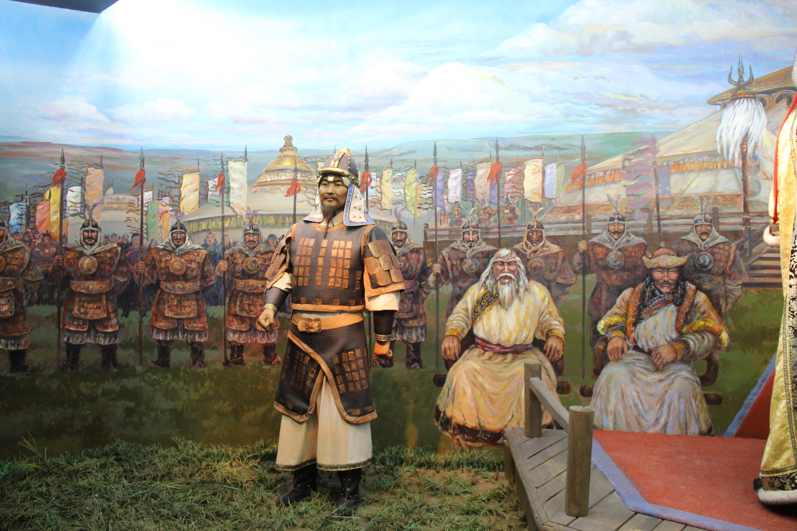 Genghis Khan & His Court in Inner Mongolia Museum