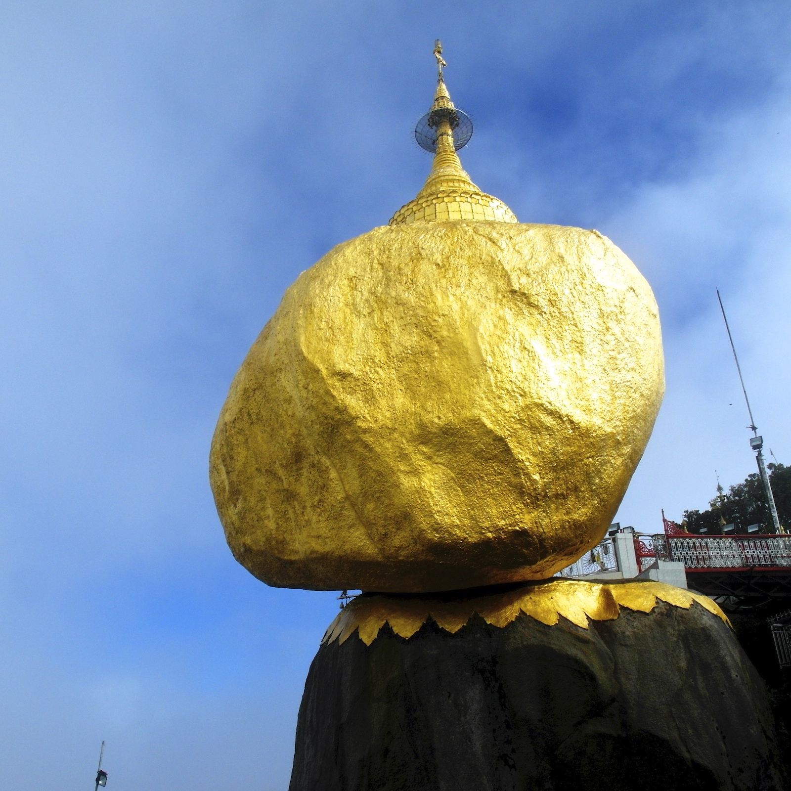 Golden Rock Pagoda, Myanmar