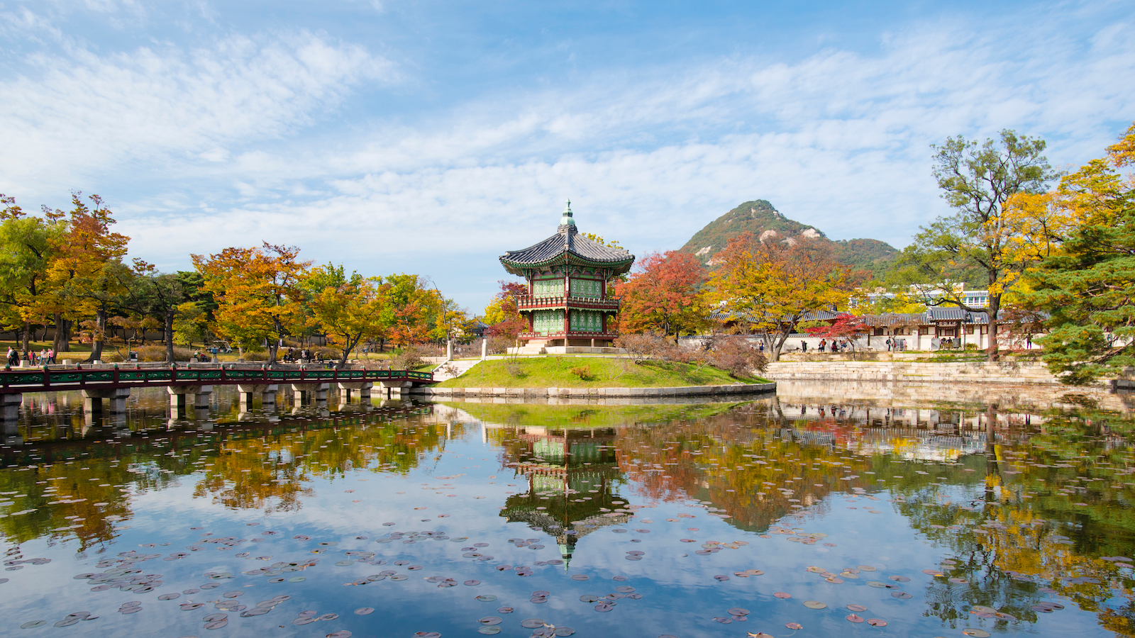 Hyangwonjeong place in Seoul, Korea
