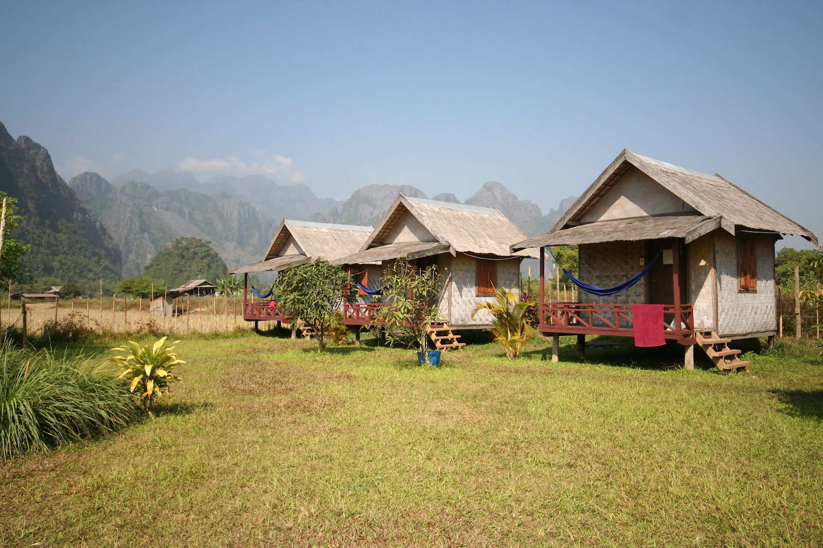 The Otherside Bungalows, Laos