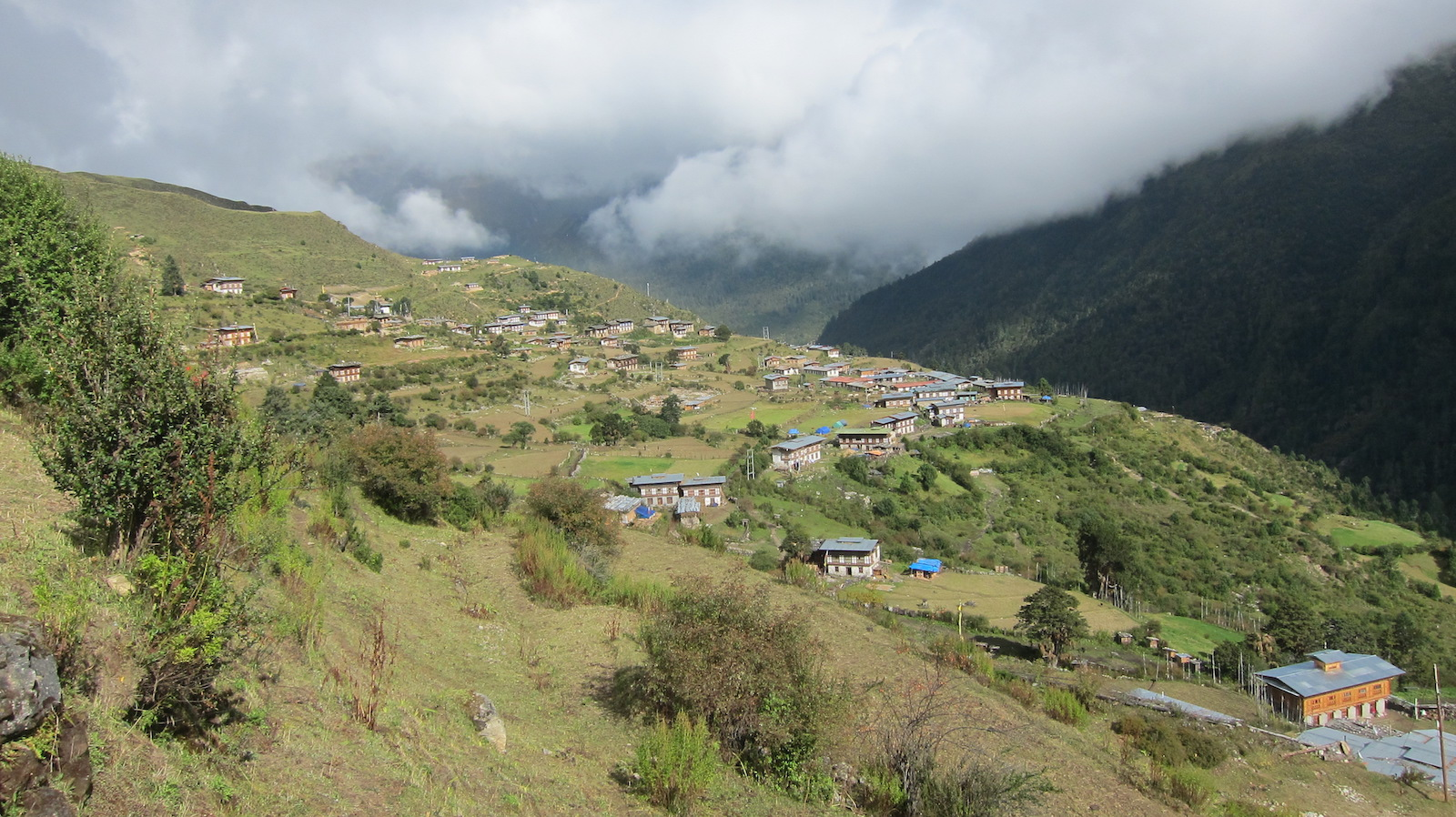 Top of the Gasa District, Bhutan