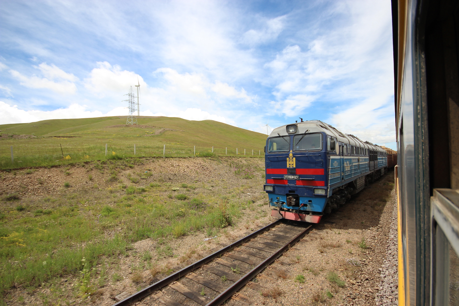 Trains in Mongolia