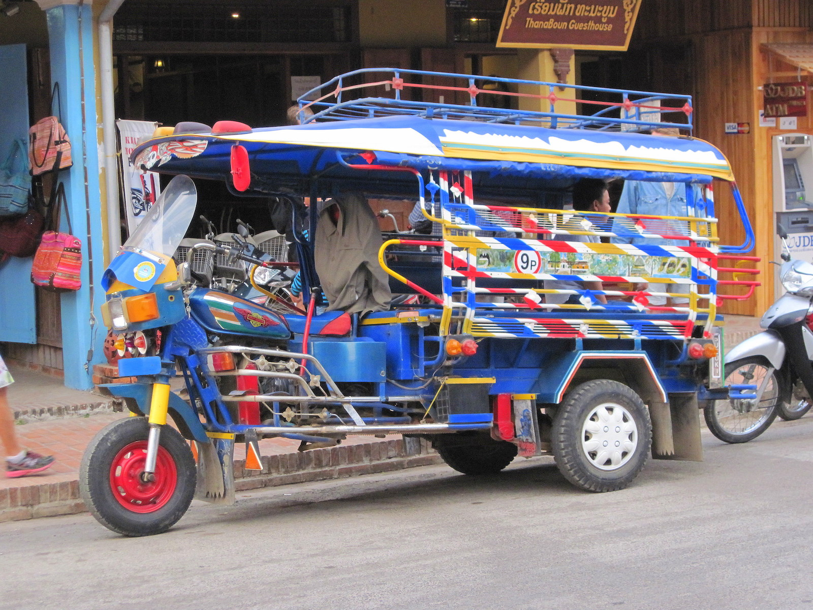 Tuk Tuk in Laos