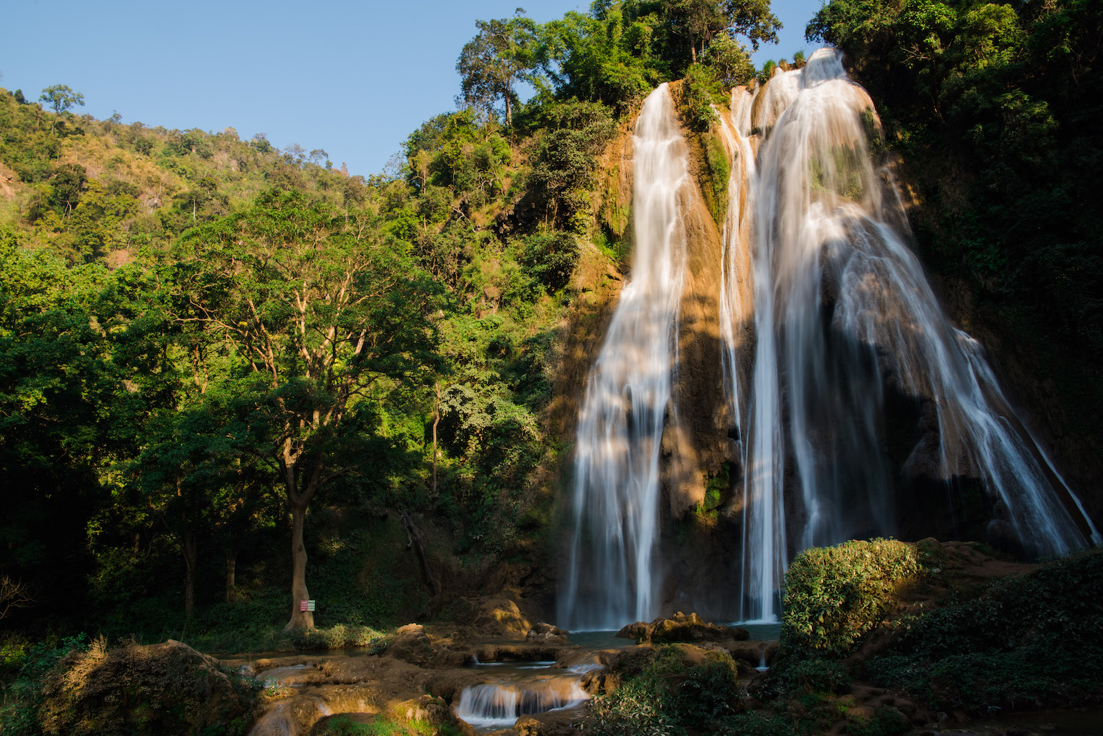 Waterfall, Myanmar