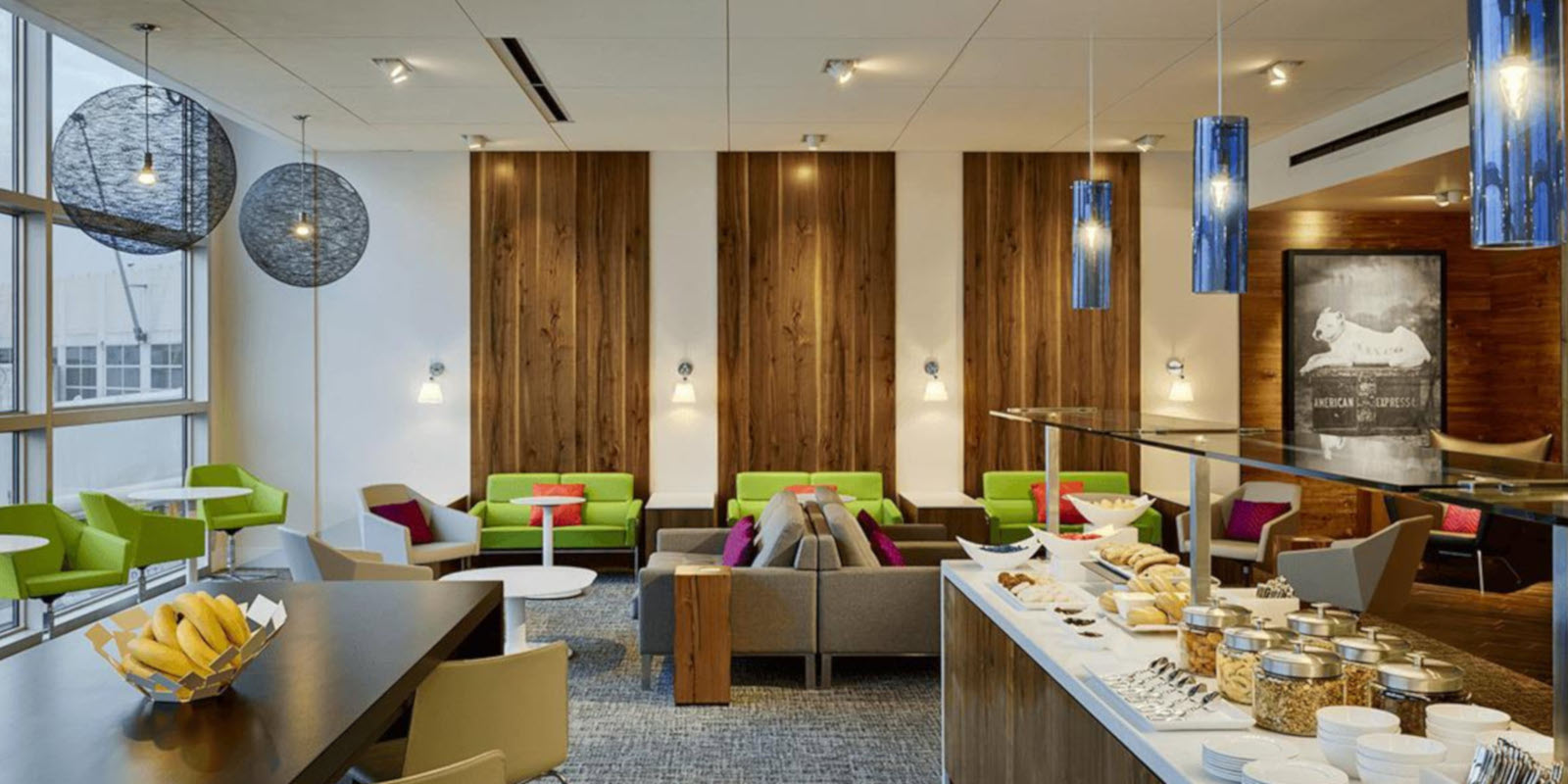 Best Airport Lounges American Express Centurion Lounge