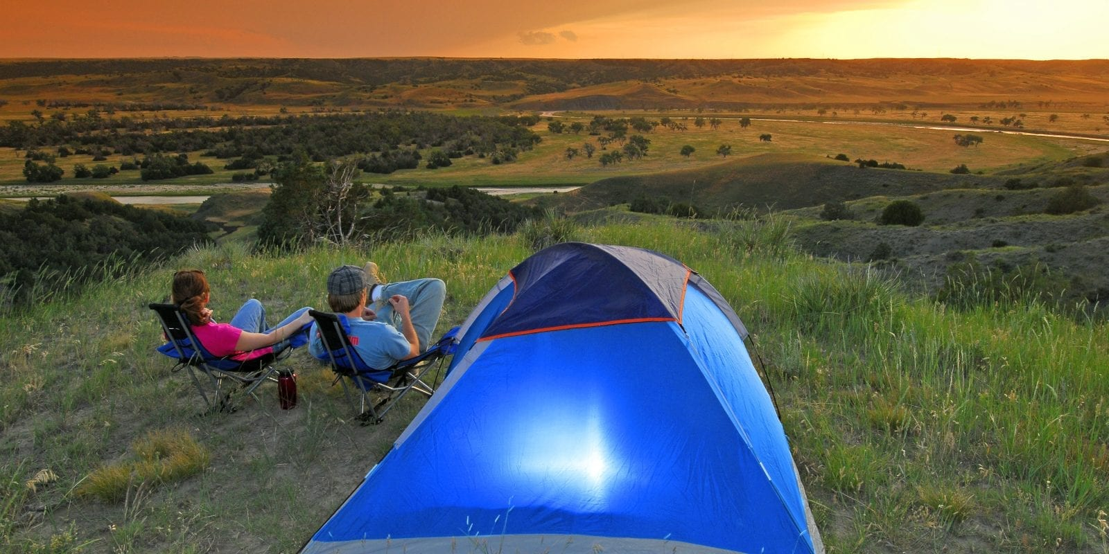 World's Best Camping South Dakota Campsite