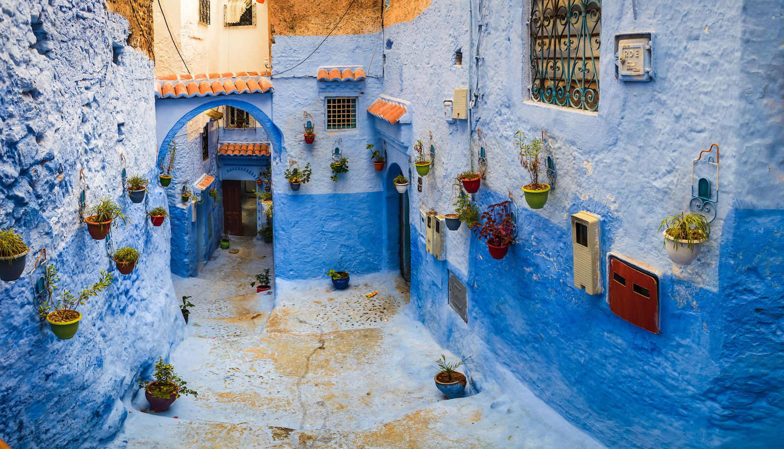 Chefchaouen streets, Morocco
