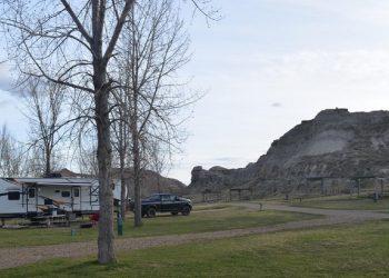 Dinosaur Provincial Park Camping in Alberta