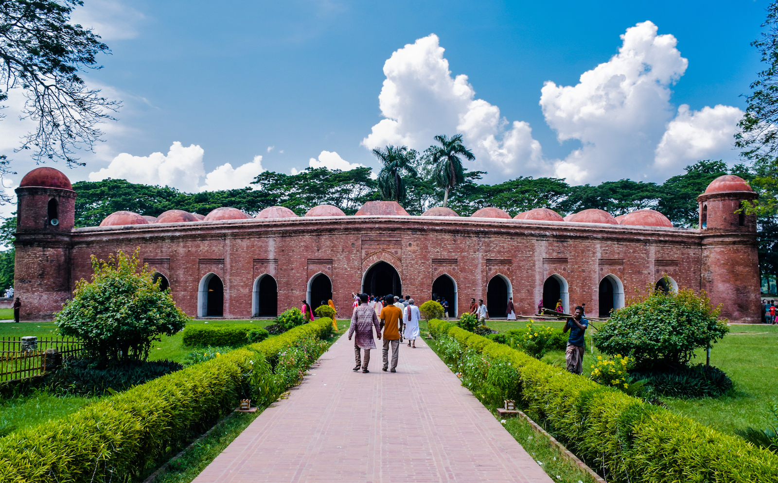 Historical mosque in Bagerhat, Bangladesh