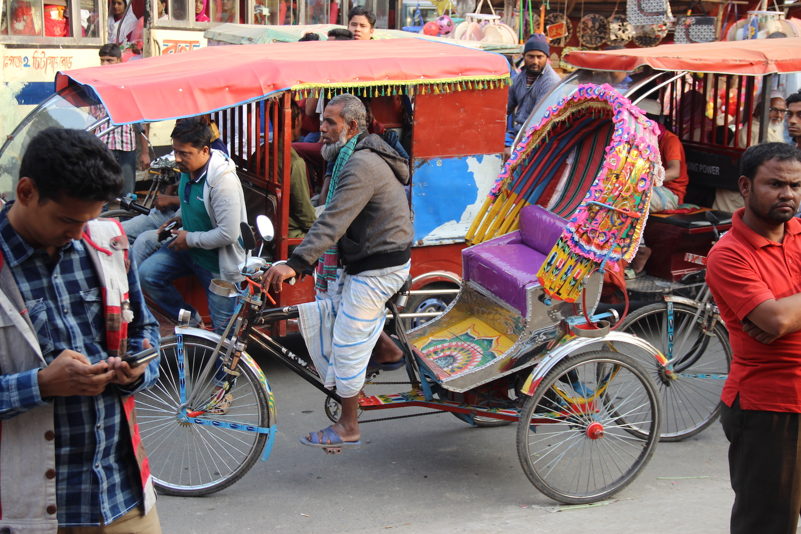 Rickshaws of Bangladesh