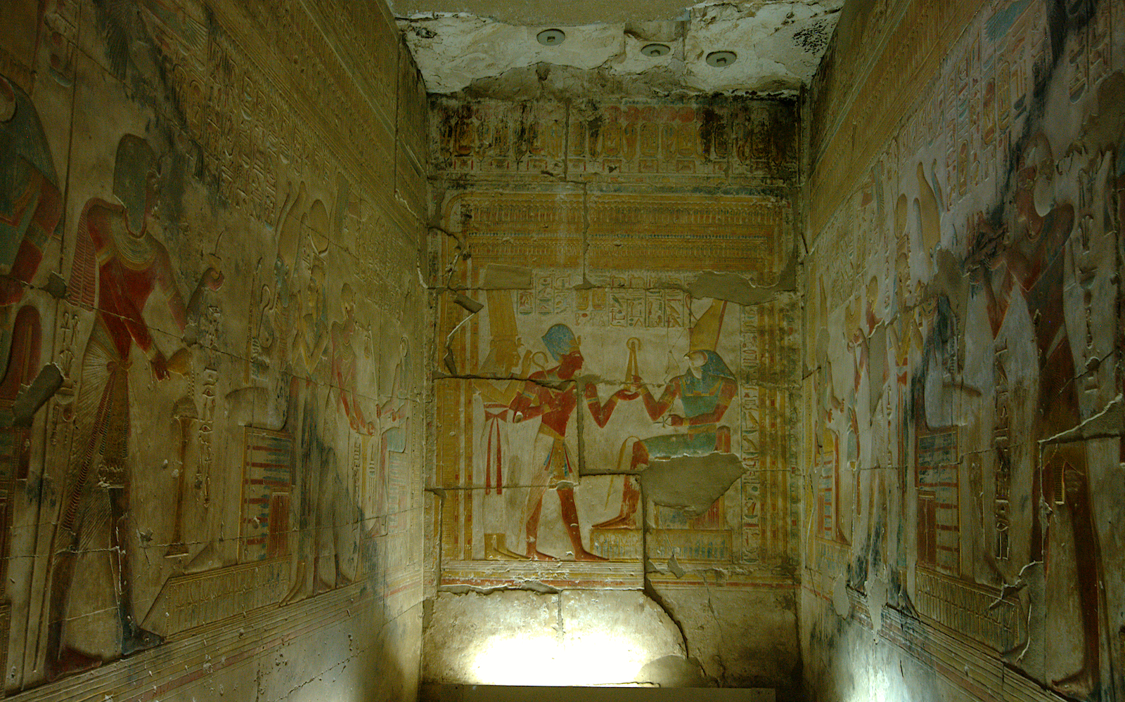 Shrine at Abydos temple, Egypt