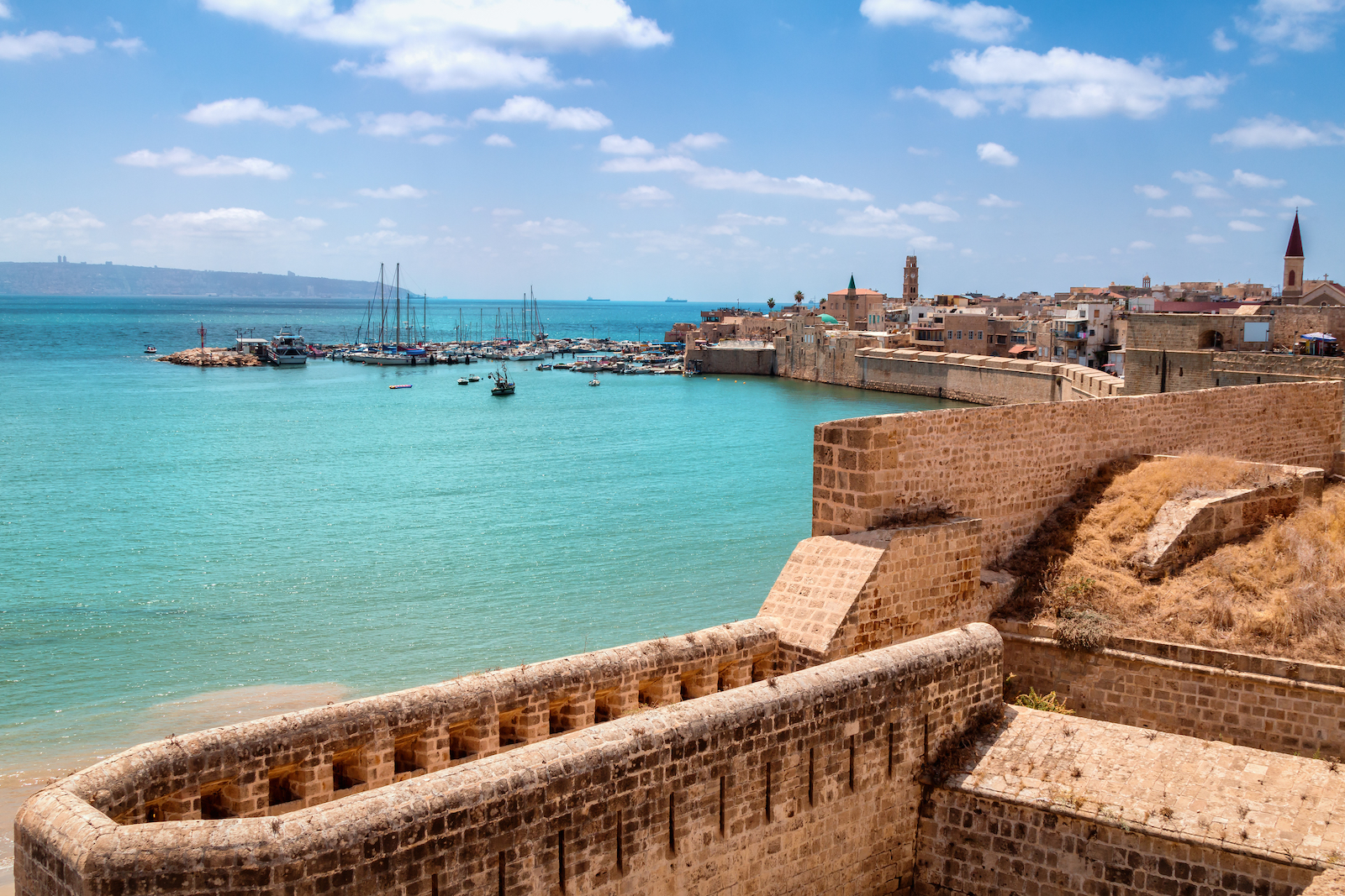 The Walls of Akko (Acre), Israel