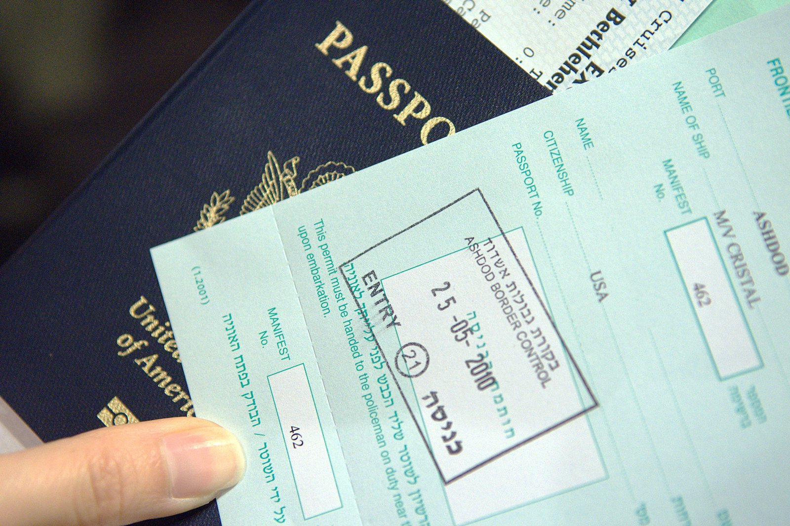 get your israel visa stamped OUTSIDE the passport, Israel