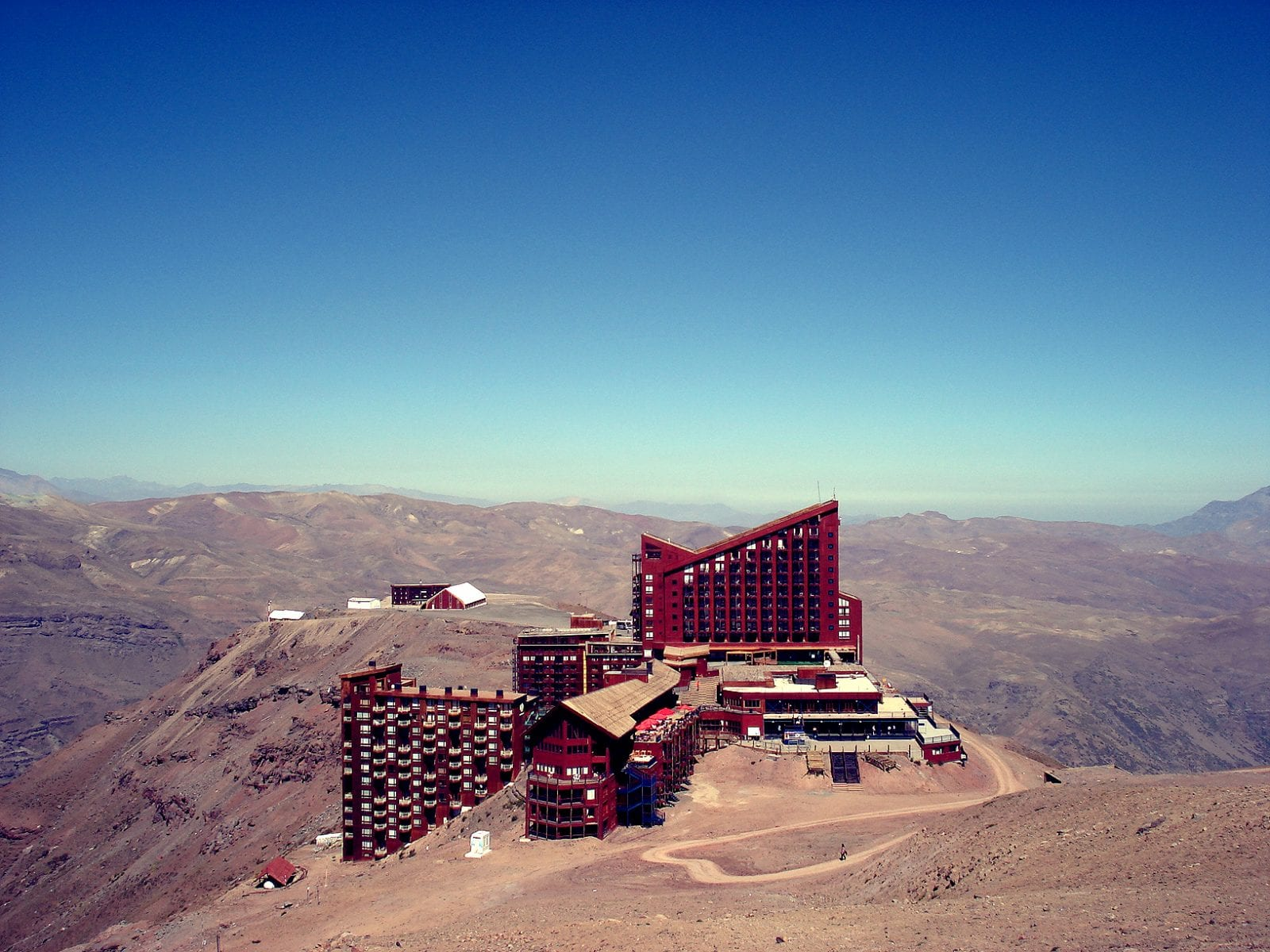 Hotel Valle Nevado in Andes, Chile