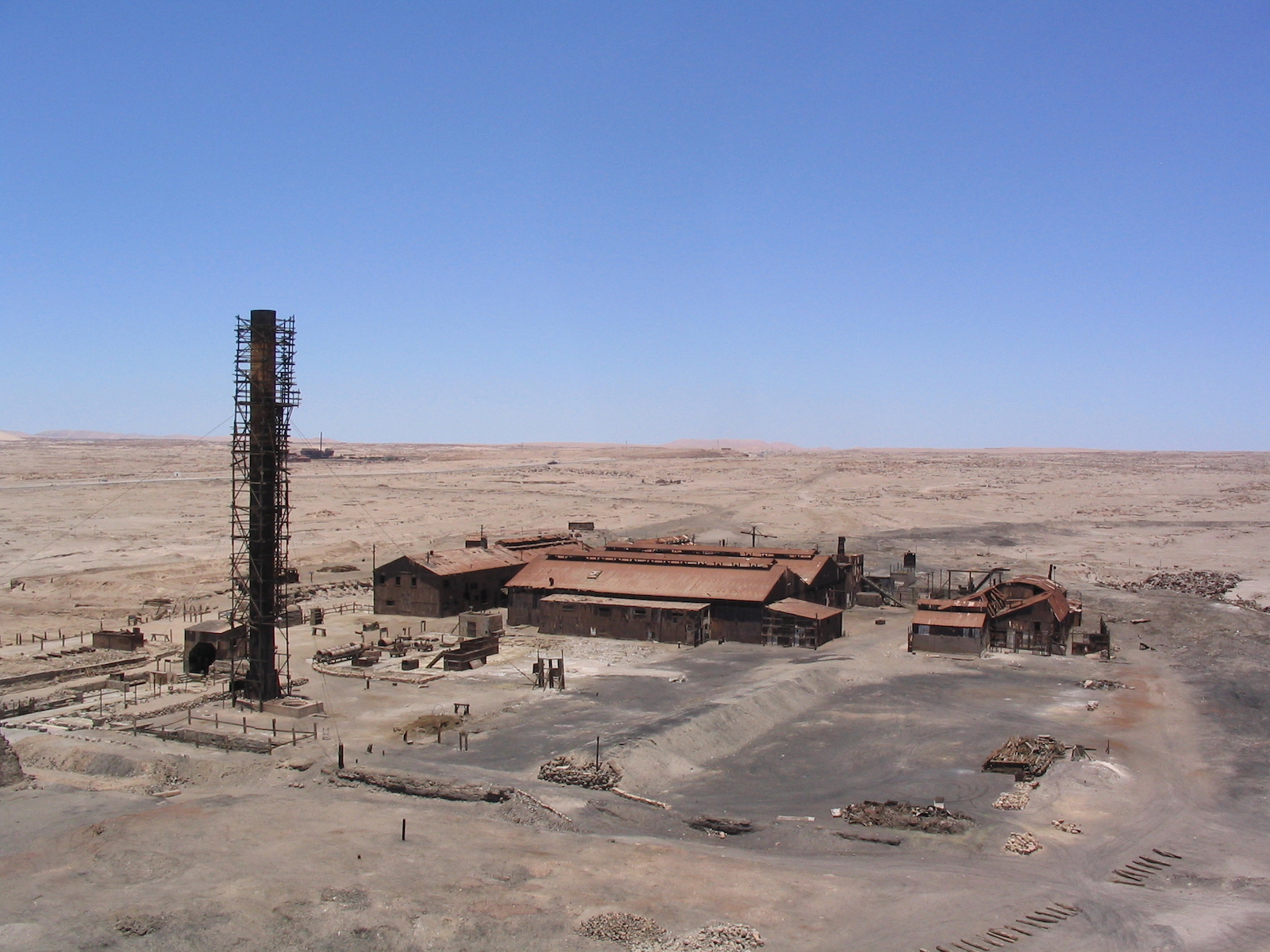 Humberstone in Chile