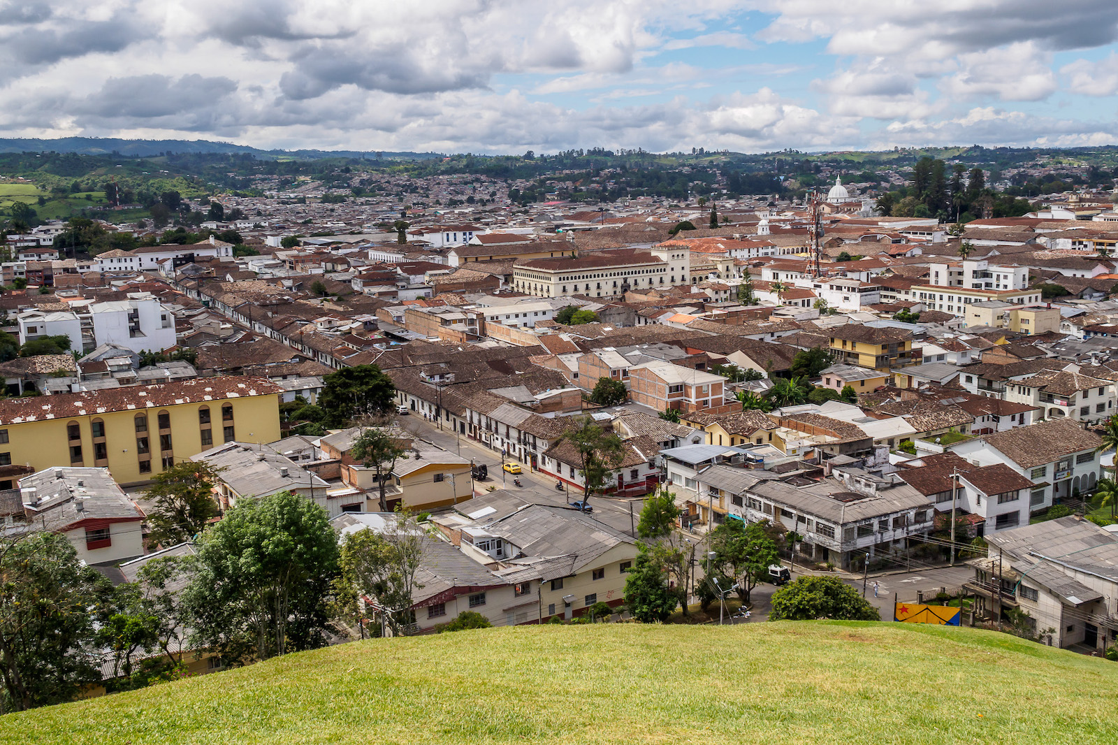 Popayan city, Colombia