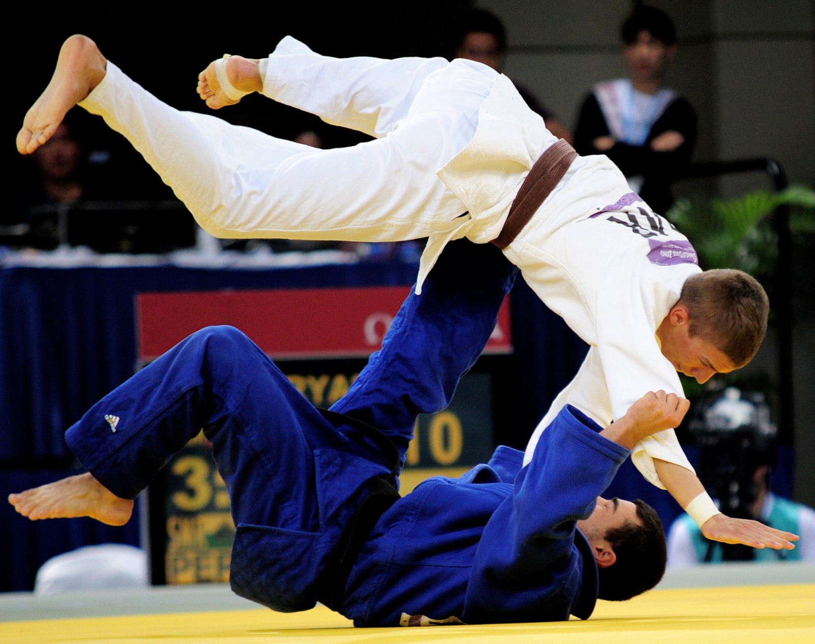 Best Grappling Martial Arts Styles Judo Throw
