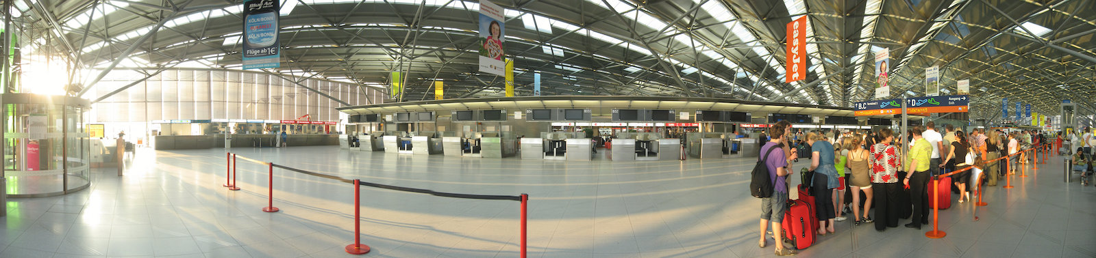 Koln/Bonn Airport, Germany