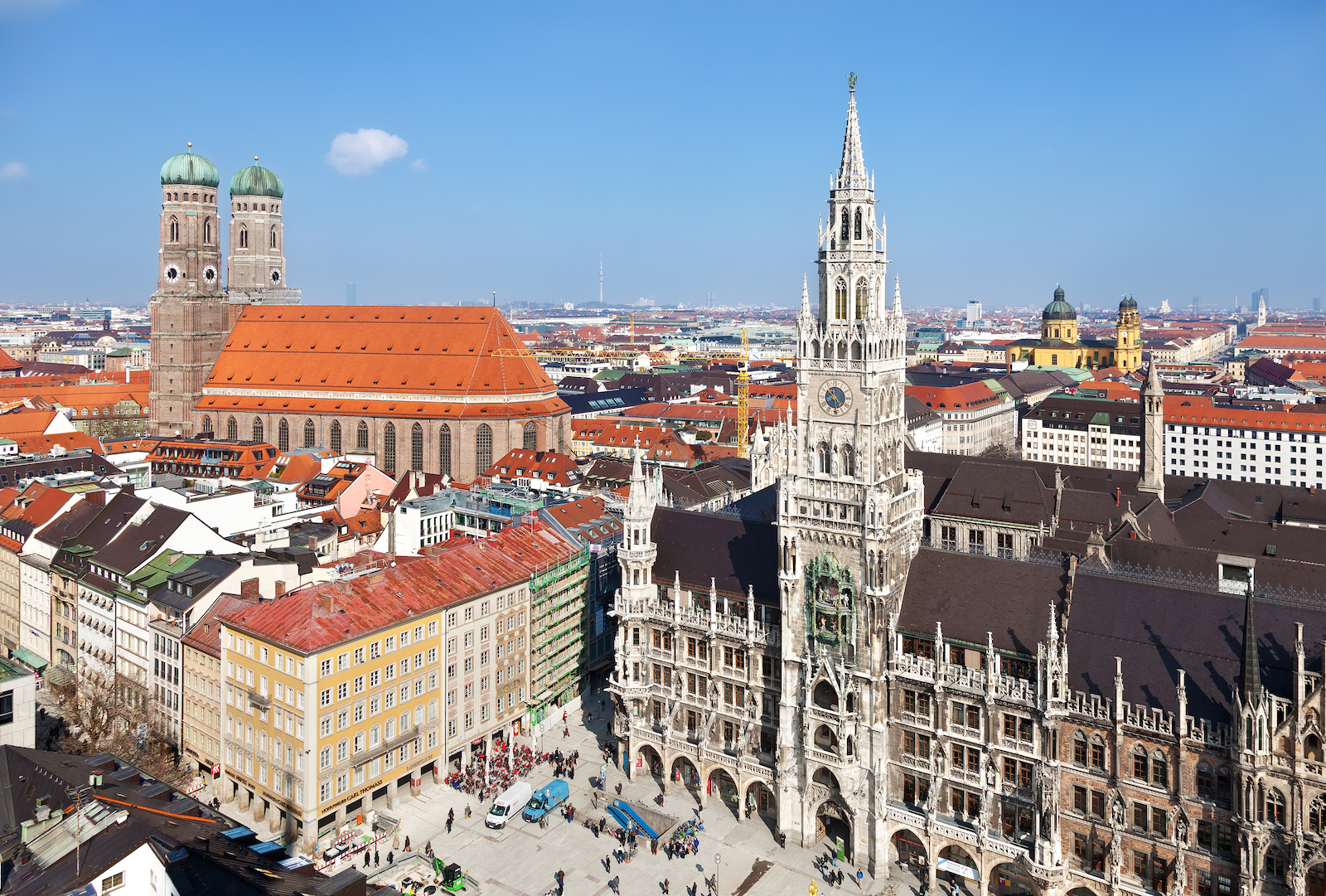 Old Town of Munich, Germany